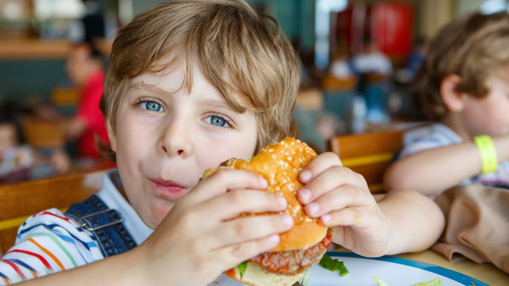 Receta de Hamburguesa especial para niños