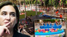 Ada Colau y su parque acuático