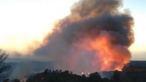 Incendio en Tarragona @Bomberos