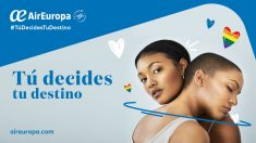 Air Europa se suma al MADO 2019, la gran fiesta del Orgullo LGBT, como línea aérea oficial y tomará parte activa en la manifestación del próximo 6 de julio por las calles de Madrid con una carroza (Foto: Air Europa)