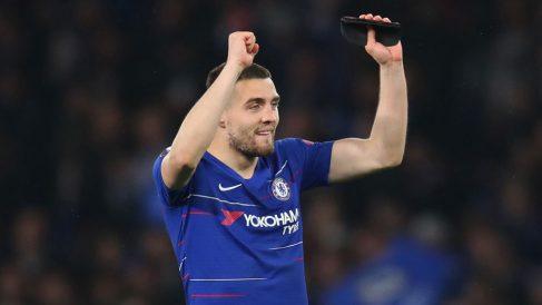 Mateo Kovacic, durante un partido con el Chelsea. (Getty)