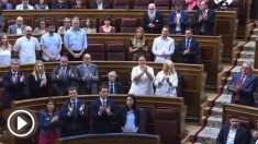 Irene Montero y Gabriel Rufián no aplauden a Marimar Blanco en el homenaje del Congreso a las víctimas de ETA