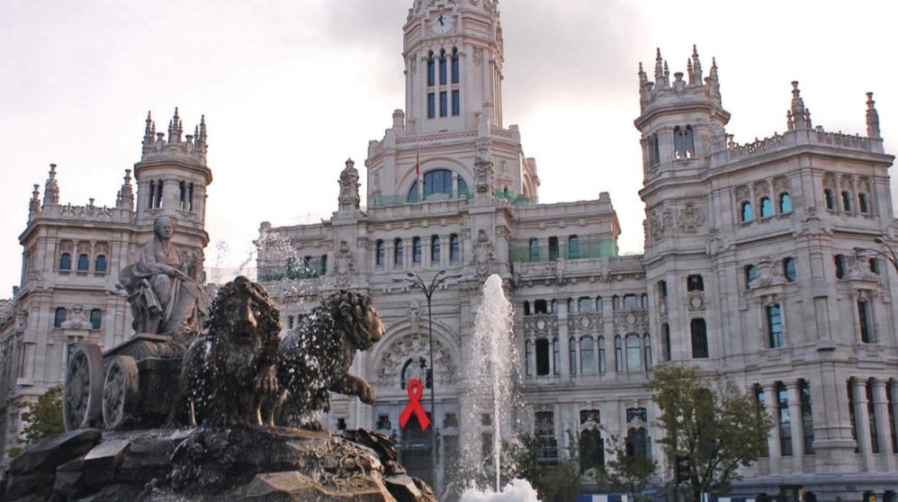 Palacio de Cibeles, sede del Ayuntamiento de Madrid.