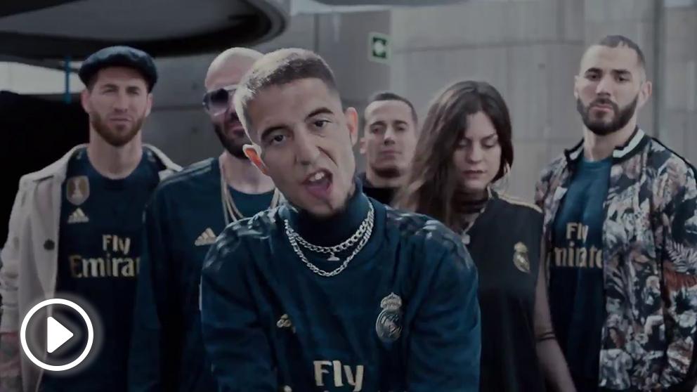El Real Madrid anunció su segunda camiseta con un vídeo de rap.