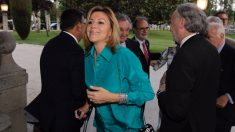 María Dolores de Cospedal, en el Colegio de Procuradores de Madrid. (Foto: Francisco Toledo)