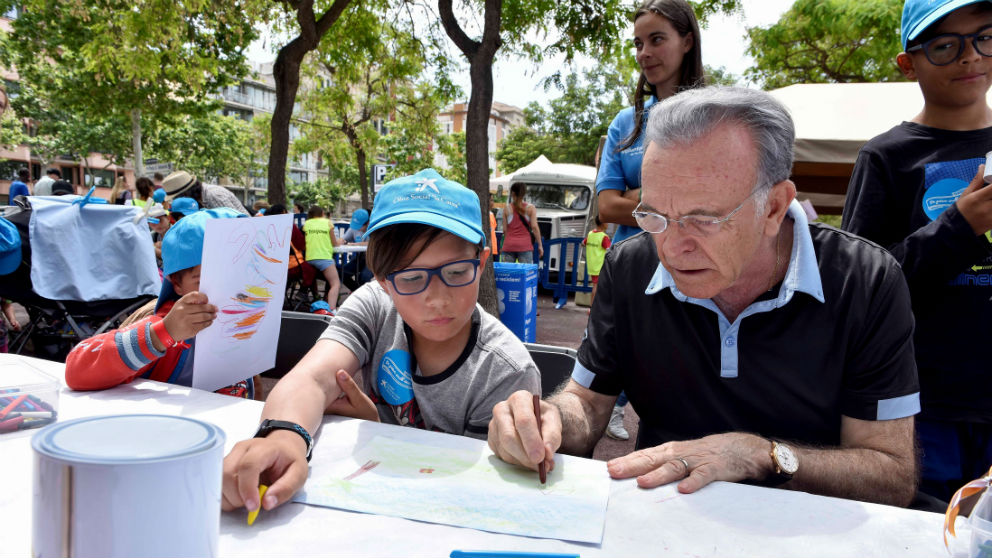 Isidro Fainé programa lucha contera la pobreza la Caixa (Foto: La Caixa)