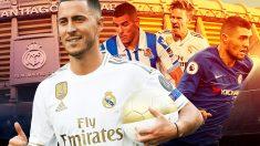 El Real Madrid se ha hecho con los servicios de Hazard a cambio de tres descartes.
