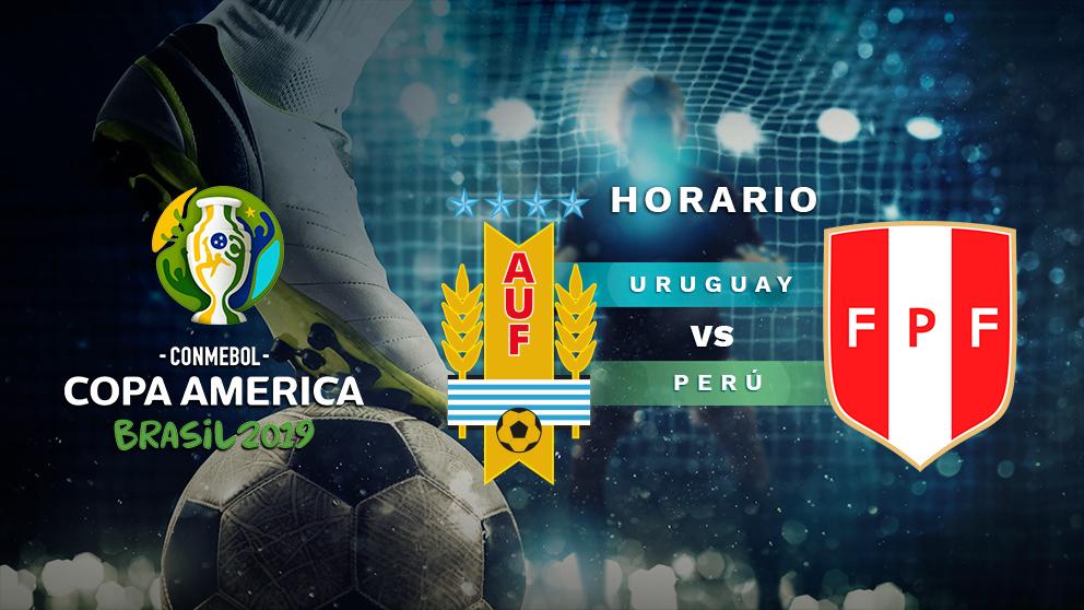 Copa América 2019: Uruguay – Perú   Horario del partido de fútbol de la Copa América 2019.