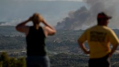Incendio en la Ribera del Ebro