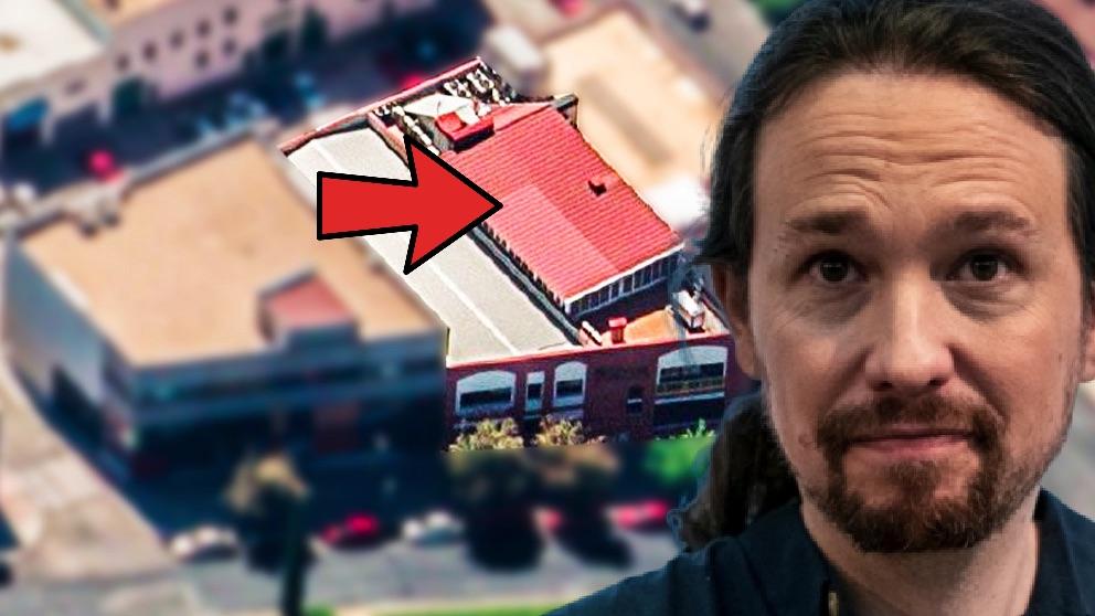La segunda planta de la nueva sede de Podemos que se levantó sin licencia.