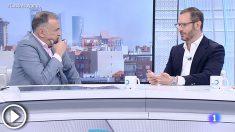 Entrevista de Xabier Fortes a Javier Maroto en TVE