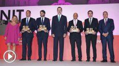 El Rey preside la 'Noche de la Logística' y la entrega de los Premios SIL 2019