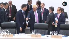 Pedro Sánchez y Donald Trump, en la Cumbre del G-20 en Osaka.