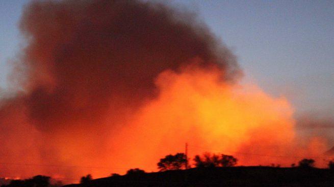 Incendio en Almorox, en Toledo @EFE
