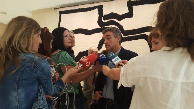 El secretario general de Derechos Humanos, Convivencia y Cooperación del Gobierno Vasco, Jonan Fernández