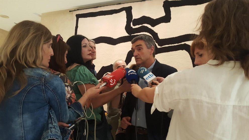 El secretario general de Derechos Humanos, Convivencia y Cooperación del Gobierno Vasco, Jonan Fernández @EP
