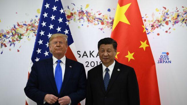 Xi Jinping, presidente de China y Donald Trump, presidente de EEUU, en el G20 @Getty