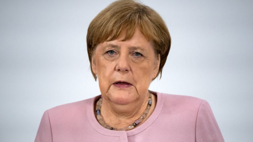 Angela Merkel, canciller alemana @Getty