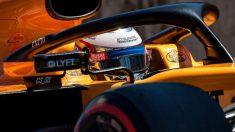 Carlos Sainz durante la clasificación del Gran Premio de Austria. (AFP)