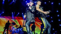 Un momento de la actuación de Scorpions en el festival Download en Madrid. Foto: EP