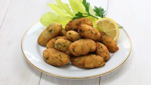 Receta de Buñuelos de pescado para niños
