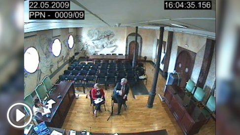 Dante Canonica declara ante el juez Pedreira por el 'caso Gürtel'.