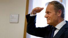 El presidente del Consejo europeo, Donald Tusk. Foto: AFP