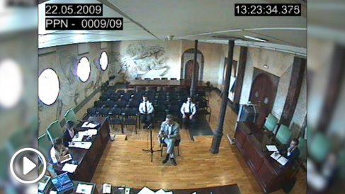Arturo Fasana declara ante el juez Pedreira por el caso Gürtel.