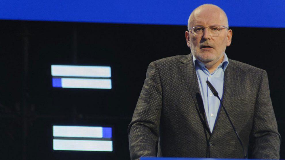 El socialista Frans Timmermans. Foto: EP