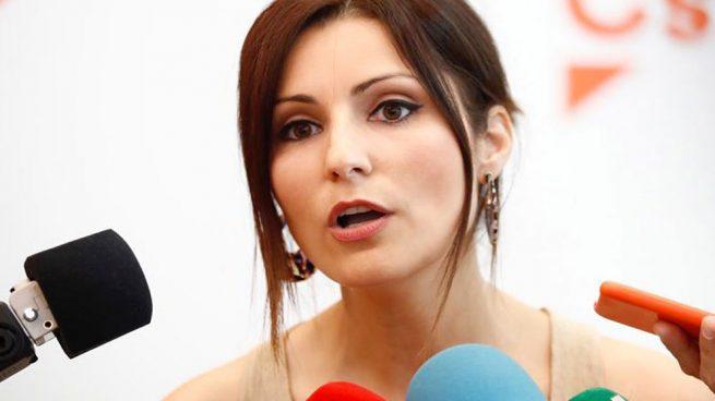 La senadora y portavoz de Ciudadanos (Cs) en el Parlament catalán, Lorena Roldán. (Foto: EFE)