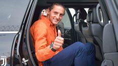 Rabiot, a su llegada a Turín. (Juventus)
