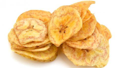 Receta de Chips de plátano
