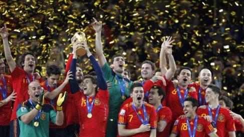 El 11 de julio de 2010 España gana el Mundial de Sudáfrica