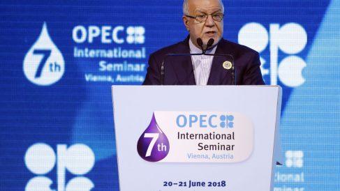 Bijan Namdar Zanganeh, ministro del Petróleo de Irán en la OPEP @Getty