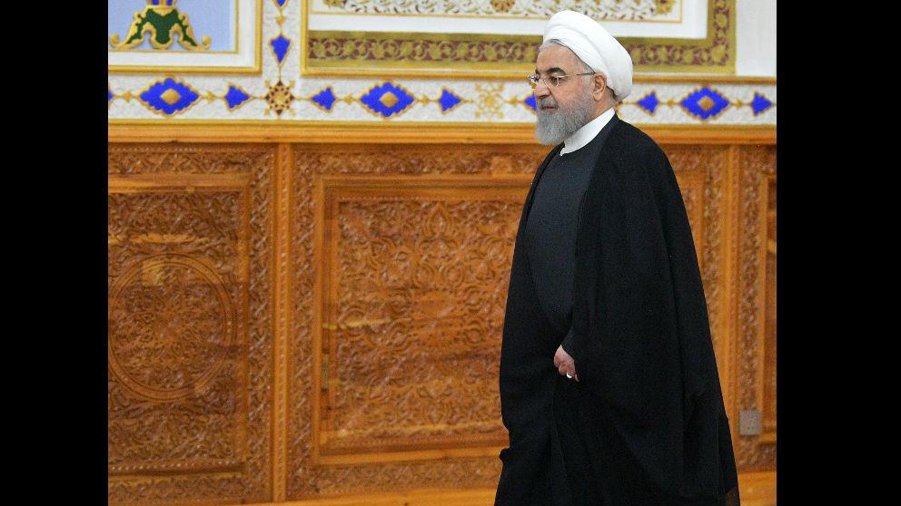 Hasan Rohani, presidente de Irán. Foto: AFP