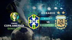 Brasil – Argentina: semifinales de la Copa América 2019.