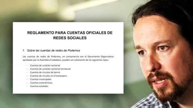Iglesias establece un Reglamento para redes sociales en Podemos
