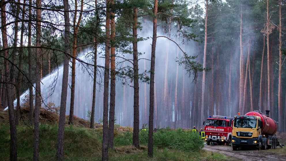 Incendio en Alemania