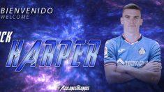 Jack Harper, nuevo fichaje del Getafe (Getafe Club de Fútbol)