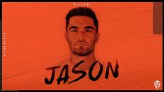 Jason Remeseiro, nuevo fichaje del Valencia (Valencia Club de Fútbol)