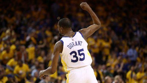 Kevin Durant deja los Warriors. (AFP)