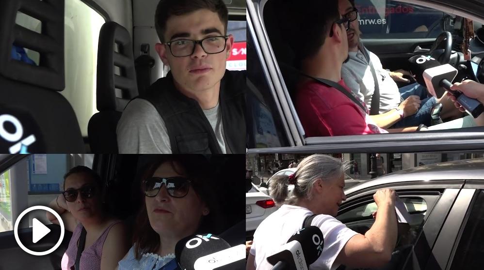 Madrid Central: Los transportistas aplauden el fin de las multas. (Vídeo: Juanma Yela)