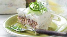 Receta de Pastel de atún y surimi