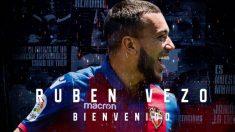Rubén Vezo, nuevo fichaje del Levante (Levante Unión Deportiva)