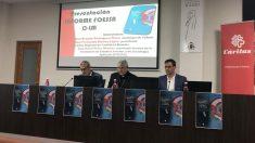 El arzobispo de Toledo y primado de España, Braulio Rodríguez en un acto de Cáritas. Foto: EP