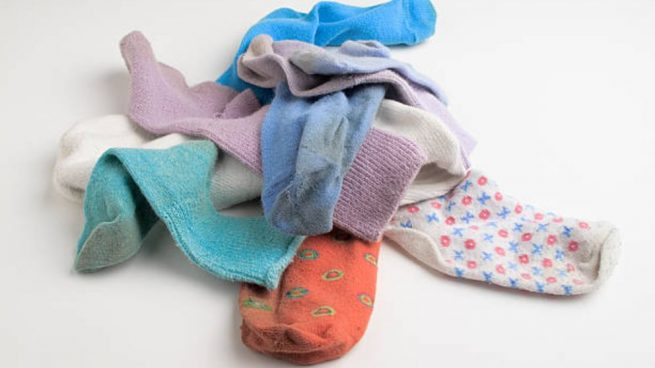 reutilizar calcetines