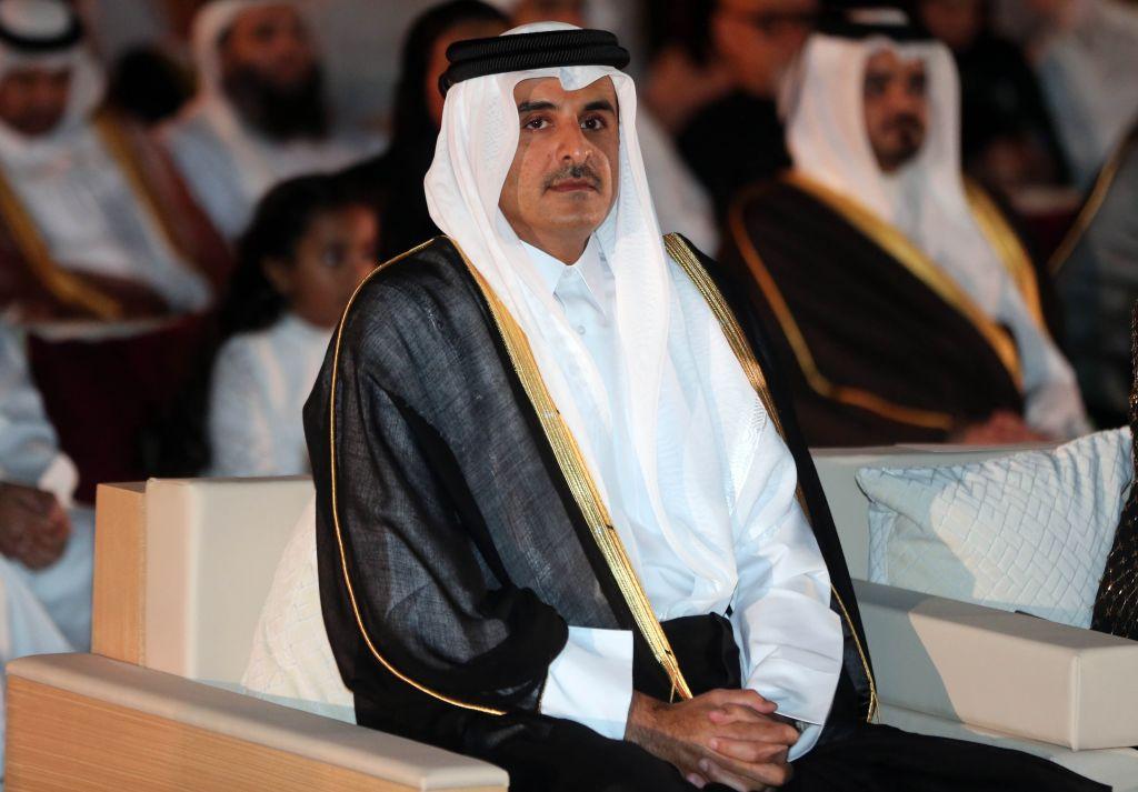 Tamim bin Hamad al-Thani, emir de Qatar @GETTY