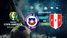 Copa América 2019: Chile – Perú | Horario del partido de fútbol de la Copa América 2019.