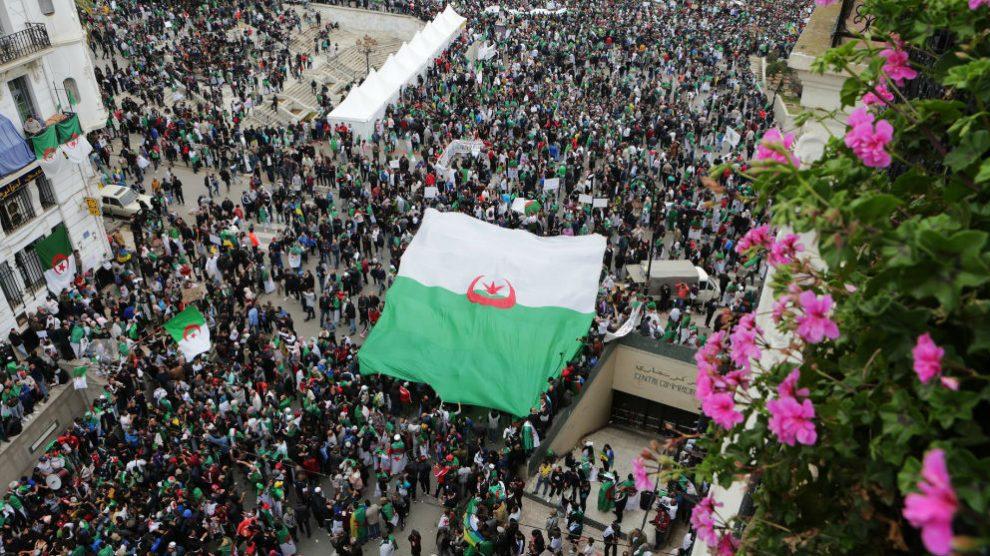 Manifestaciones en Argelia