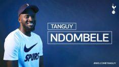 Ndombéle, nuevo jugador del Tottenham.